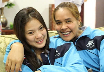 สบายๆกับวอลเลย์บอลสาวไทย