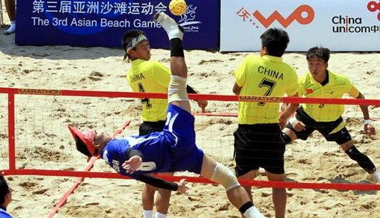 ไทยแค่รองแชมป์ปิดฉากเอเชียนบีชเกมส์ ที่จีน