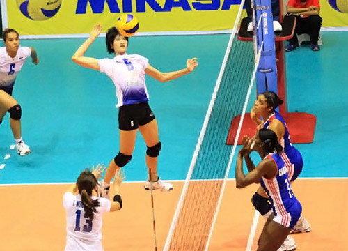 สาวไทยตบคิวบา3เซตรวด เวิลด์กรังด์ปรีซ์