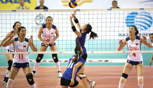 สาวไทยไม่กลัวศักดิ์ศรีจีน ตบกระจายซิวเเชมป์เอวีซี