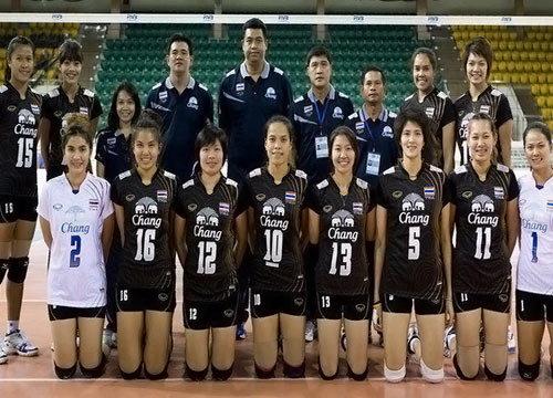 ลูกยางสาวไทยขอบคุณแฟนกีฬาตามเชียร์