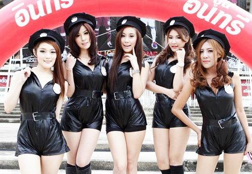 """สาวสวย """"Cop Angels"""""""