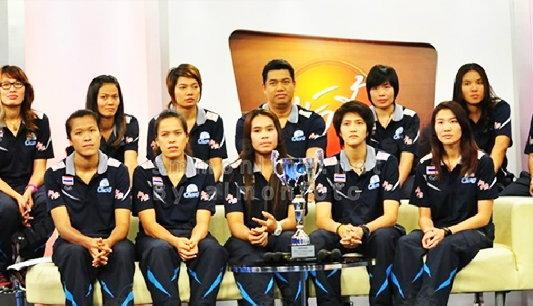7 ตบสาวไทยฮอต แถลงสัญญาทีมอิติซาดบาคู