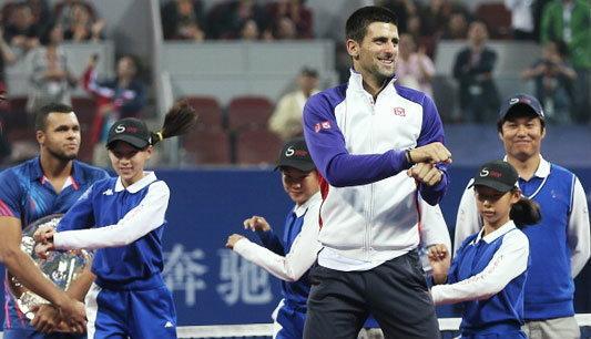 กีฬา : น่ารักอ่ะ! ยอโควิช เต้นกังนัมสไตล์+คลิป