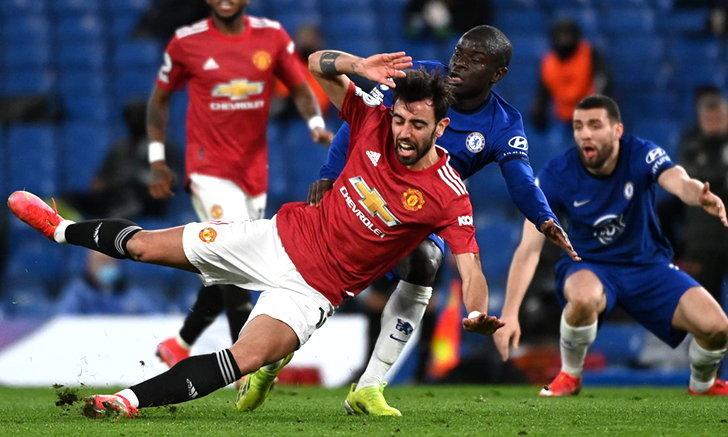 เชลซี vs แมนยู 0-0 | ผลบอล พรีเมียร์ลีก อังกฤษ