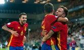 """""""ซาอูล"""" แฮตทริก! """"สเปน"""" อัด """"อิตาลี"""" 10 คน 3-1 ลิ่วชิงยูโร U21 (คลิป)"""