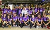 """แบโผ! """"14 นักตบลูกยางสาวไทย"""" ลุยศึกมองเทรอซ์ มาสเตอร์ 2017"""