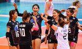 """ไม่มีปัญหา! """"ตบสาวไทย"""" ไล่อัด """"เวียดนาม"""" 3-0 คัดลูกยางชิงแชมป์โลก"""