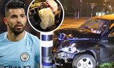 """โคตรเจ็บเลยคุณ! """"อเกวโร่"""" ให้สัมภาษณ์ครั้งแรกหลังประสบอุบัติเหตุรถชน"""