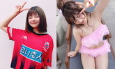 """""""เวียนนา"""" สาวไทยสไตล์ญี่ปุ่นพิธีกรสาวเจลีกเกมเปิดตัว """"เมสซี่เจ"""" (อัลบั้ม)"""