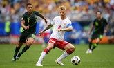 ลุ้นถึงนัดสุดท้าย! เดนมาร์ก แบ่งแต้ม ออสเตรเลีย 1-1