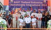 """""""โตโยต้า ทีมไทยแลนด์ """" ฉลองชัยชนะยกทีมขึ้นโพเดียม """"RAAT 2018"""""""