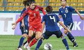 """""""ชบาแก้ว"""" พ่าย ทีมชาติญี่ปุ่น 0-2 ประเดิมสนามเอเชียนเกมส์"""