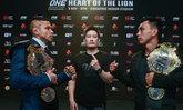 """ศุกร์นี้มีเฮ! """"บิเบียโน่ VS เบลิงกอน"""" แถลงความพร้อมศึก ONE: HEART OF THE LION"""