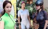 """จัดว่าแจ่ม! """"ลี ซู-ยอน"""" นักปั่นสาวแดนโสมหุ่นสุดเอ็กซ์ (อัลบั้ม)"""