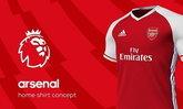 อาร์เซน่อล เซ็น Adidas เป็นชุดแข่งใหม่เริ่มซีซั่นหน้า