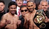 """PPTV ยิงสดวันนี้! """"ปาเกียว VS เธอร์แมน"""" เดิมพันเข็มขัดแชมป์ WBA"""