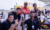 """""""ภูริต"""" นำม้วนเดียวจบ ผงาดแชมป์ที่สองของปี ศึกออดี้ อาร์8 แอลเอ็มเอสคัพ 2019 ที่ญี่ปุ่น"""