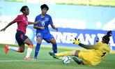 เละเทะ! สาวไทยถล่ม อินเดีย ยับ10-0 เข้าที่สองลิ่ว 8 ทีมอชก.