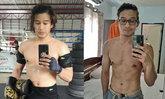 """ชีวิตเปลี่ยนร่าง : """"ครูตอง"""" ชนนภัทร วิรัชชัย หลังแบกน้ำหนักสู้มากว่า 3 ปี"""