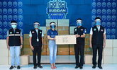 พลังGU12! บุรีรัมย์ ยูไนเต็ด ส่งมอบ Face Shield ให้เจ้าหน้าที่ 100,610 ชิ้น