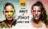 """ศึกมวยกรง UFC 250 """"นูเนส"""" VS """"สเปนเซอร์"""" เปิดศึกอาทิตย์ที่ 7 มิ.ย. นี้"""