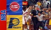 """เหตุตะลุมบอนครั้งใหญ่ที่สุดใน NBA ที่มีจุดเริ่มต้นจาก """"แก้วน้ำใบเดียว"""""""