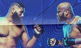 """ศึกยักษ์ชนยักษ์! """"เคอร์ติส เบลดส์"""" ตะบันหน้า """"เดอร์ริค ลูอิส"""" ศึก UFC Fight Night"""