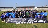 """""""ช้าง เอฟเอ คัพ 2020"""" เปิดฟรีคลินิกฟุตบอลแห่งที่ 3 ที่ จ.กาญจนบุรี เยาวชนเข้าร่วม 150 คน"""
