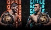 """เดือดแน่นอน! """"คาบิบ"""" คืนสังเวียนป้องแชมป์ดวล """"เกทจี"""" ศึกแชมป์ชนแชมป์ UFC 254"""