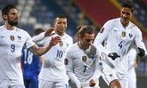 """""""กรีซมันน์"""" โขกชัย  ตราไก่  บุกเฉือน บอสเนีย 1-0 คัดบอลโลก กลุ่ม ดี"""