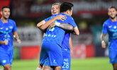 """""""มูริลโล"""" กดสี่, """"วรชิต"""" แฮตทริก! ชลบุรี บุกถล่ม ขอนแก่น 7-0 ยึดจ่าฝูงไทยลีก"""