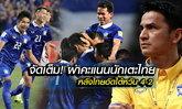 """จัดเต็ม! ผ่าคะแนนนักเตะไทย หลังเกมอัด ไต้หวัน 4-2 โดย """"บ.ส้มซิ่ง"""""""