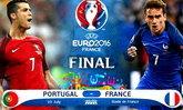 พรีวิวฟุตบอลยูโร 2016 รอบชิงชนะเลิศ วันอาทิตย์ที่ 10 ก.ค. 2559 โปรตุเกส VS ฝรั่งเศส