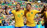 บราซิล ไล่ยำ ฮอนดูรัส 6-0 ทะลุชิงทอง บอลชายโอลิมปิก