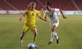 """สาวไทยทำได้! """"ชบาแก้ว"""" คว้าชัยเหนือ """"ยูเครน"""" 1-0 ศึกสี่เส้าที่จีน"""