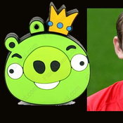 King pig = wayne rooney