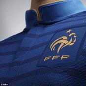 ชุดเหย้าฝรั่งเศส2012