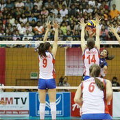 วอลเลย์บอลหญิงทีมชาติไทย