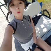 นักกอล์ฟสาวเกาหลีสวย