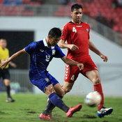 ฟุตบอลนัดอุ่นเครื่อง ไทย 2-0 อัฟกานิสถาน