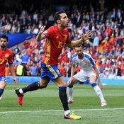 ภาพสเปน ชนะ เช็ก 1-0