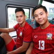 ภาพทีมชาติไทยฝึกซ้อม