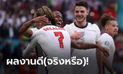 ตัดเกรดนักเตะทีมชาติอังกฤษ เกมเชือด สาธารณรัฐเช็ก 1-0