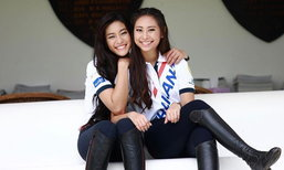 """""""สายลับ-เสียงซอ"""" สองพี่น้องนักกีฬาขี่ม้าทีมชาติไทยลุยซีเกมส์ (อัลบั้ม)"""