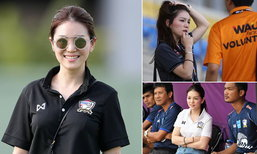 """ขวัญใจคนไทยทั้งประเทศ! """"มาดามเดียร์"""" ผู้จัดการทีมช้างศึก ชุดซีเกมส์ 2017 (อัลบั้ม)"""