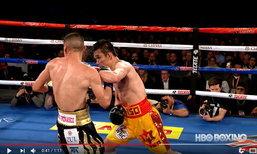"""โคตรสุด! HBO Boxing จัดให้ """"คลิปชัด เสียงชัด"""" หมัดต่อหมัด """"ศรีสะเกษ - เอสตราด้า"""""""
