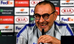 """""""ซาร์รี"""" ลั่น สิงห์บลู คือทีมที่เหมาะชูถ้วย ยูโรป้าลีก"""