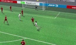 คลิปไฮไลท์ยูโร2012 3D โปรตุเกส นำ เดนมาร์ก 3-2