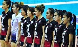วอลเลย์บอลสาวไทยเฉือนชนะคิวบา 3-2 ศึก 4 เส้าแดนมังกร